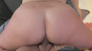 Mom her stunning stud dry fucks milf younger and sucks fingering pussy