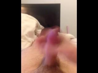 Cum control cumshot! Cum lube and long orgasm