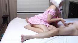 массаж простаты от переодетой жены