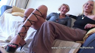 Anal takes tall an blonde pounding very assfuck onemanbanned