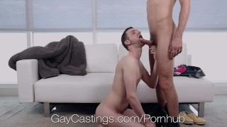 Casting Agent Fucks John Daring in Porn Audition