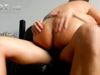 Asian and black anal sex