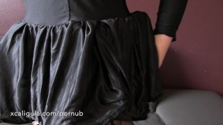 Amateur Halloween Babe Anal Close-up & Orgasm