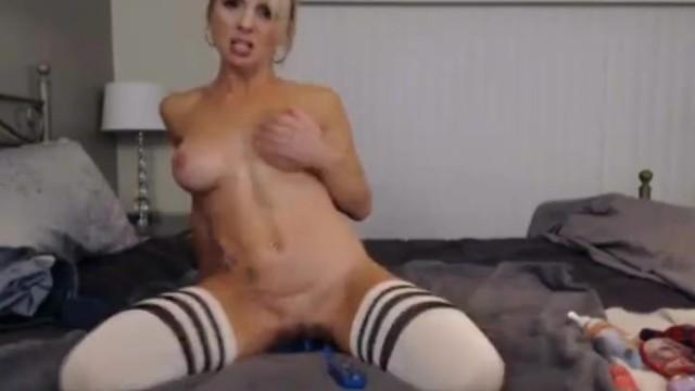 Blonde Babe Get Strip and Masturbate on Cam 16