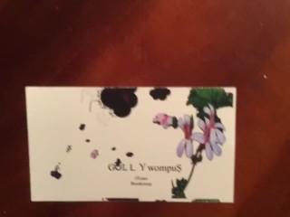 Gully Wompus sex music XXX film scores BIzness card