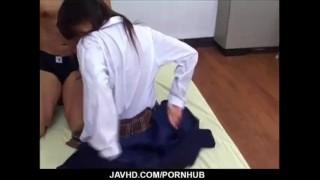 韓国のJC?JKがおじいちゃんの反り立つチンポをフェラチオの学生系動画