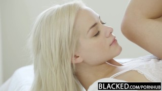 BLACKED Elsa Jean Takes Her First BBC Blonde missionary