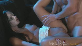 MOM Nympho Sex Demon exorcised with a good hard fucking and creampie