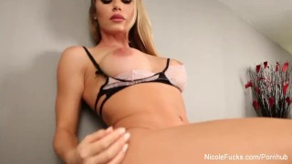 Aniston chad nicole with and white pussy eating high lingerie