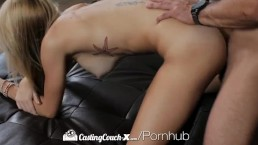 CastingCouch-X - First audition for skinny Samantha Nixon with big boobs