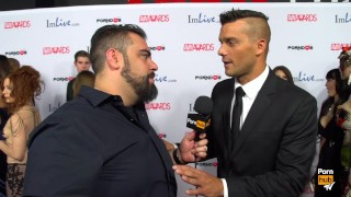 PornhubTV Ramon Red Carpet 2015 AVN Interview
