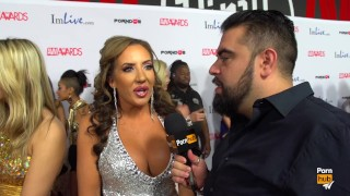 PornhubTV Richelle Ryan Red Carpet 2015 AVN Interview