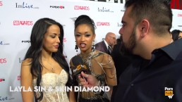 Treat Yourself or Beat Yourself? 2015 AVN Red Carpet Interviews PornhubTV