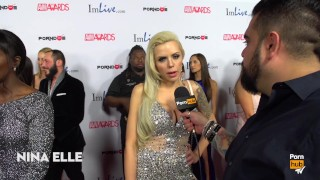 Weirdest Thing You Masturbated To? 2015 AVN Red Carpet Interviews PornhubTV porno