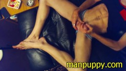 Phone Sex After the Cam Show - Foot Fetish - Male Feet - Manpuppy