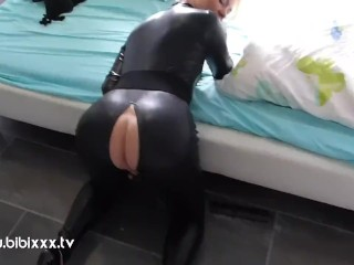 Wife sex public video