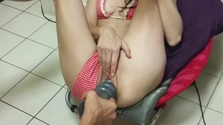 Filled having stretched up out love pussy my aussie brutal