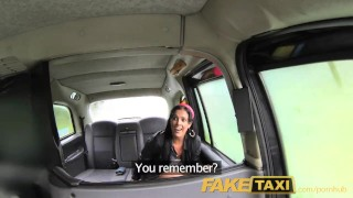 Preview 1 of FakeTaxi London cabbie arse fucks Spanish passenger