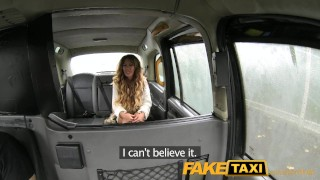 FakeTaxi Stunning gold digger with a great body Voyeur spycam