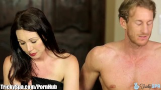 Into tricked fucking rayveness milf masseur curvy brunette tits