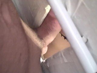 glory hole BB raw fuck bred and seed-prt1