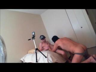 ski masked BB raw fuck-Daddy Massage-prt2