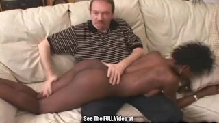 Cock chick hot by fucked chocolate white ebony cock