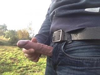 Extreme boy erection...