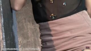 Amazing red head fashion model Sam Brook gone bad shows how she masturbates