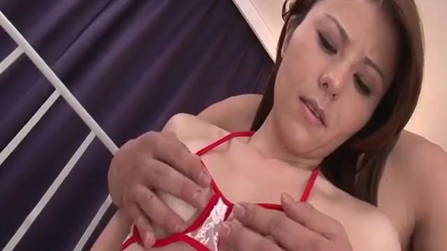 Impressive sex video with peachy tits Rosa Kawashima 16