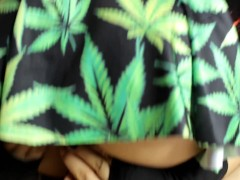 Cannabis Ivy Caught Smoking and Steals a Quickie