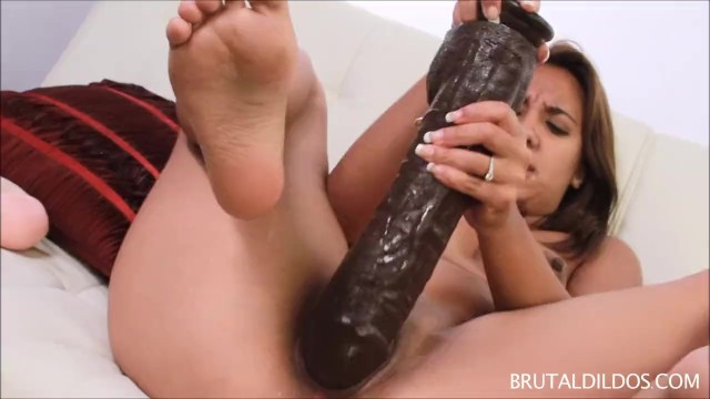 Brunette;Masturbation;Toys;Small Tits masturbate, adult-toys, brunette, orgasm, masturbation, masturbating, dildos, small-boobs, vibrator, tanlines, huge-dildo, monster-dildo