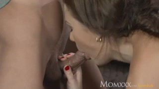 Mom younger housewife boy fucks in ass the older sucking female