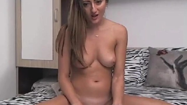 Petite Babe Playing Her Cunt On Webcam 17