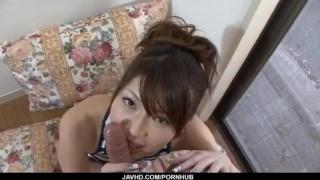 Superb scenes of POV along brunette Arisa Aoyama