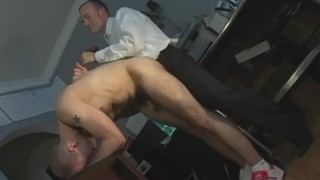 Dads Fucking their Boys with Massive Cocks Prone daddy