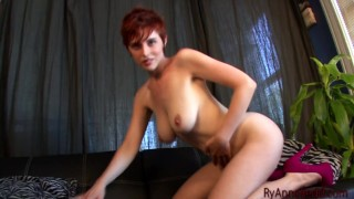 Ryanne Redd striptease and masturbating
