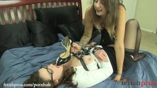 Missy Minks has her way with Sofia Lauryn