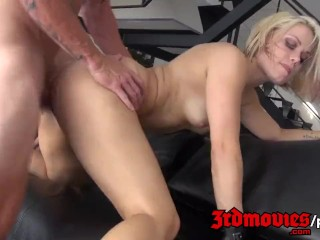 Ash Hollywood fucks like a rodeo girl
