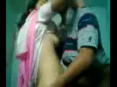 Indian couple getting ready to fuck in home