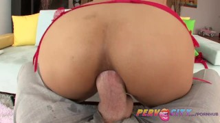 PervCity Hot Asian Teen Anal Sex