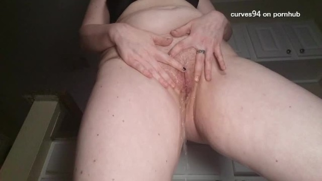 Panties are filled with piss 8