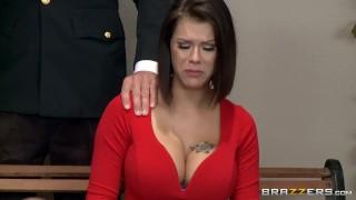 Peta Jensen gets some lawyer dick  - Brazzers