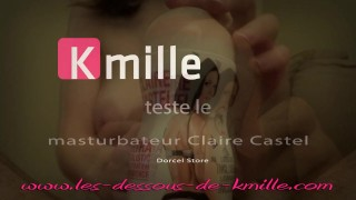 Kmille teste le masturbateur Claire Castel