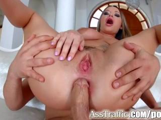 Asstraffic Rachele Richey gets her ass banged