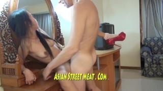 Gorgeous Asian Beauty Queen Fucks For Supper