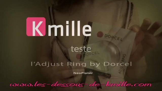 Marcel dorcel french porn Kmille teste ladjust ring by dorcel