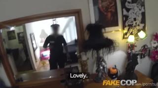Fake Cop Uniformed policeman fucks cock hungry sluts