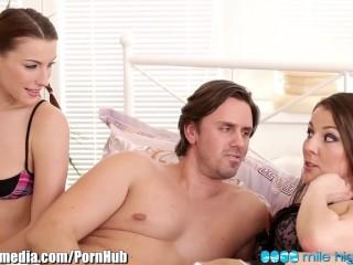 Euro Couple Fuck their Teen Maid