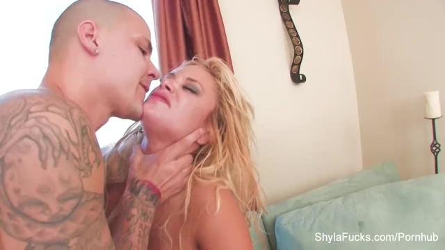 Shayla stylez riding cock Shyla stylez shares a big cock with aubrey addams